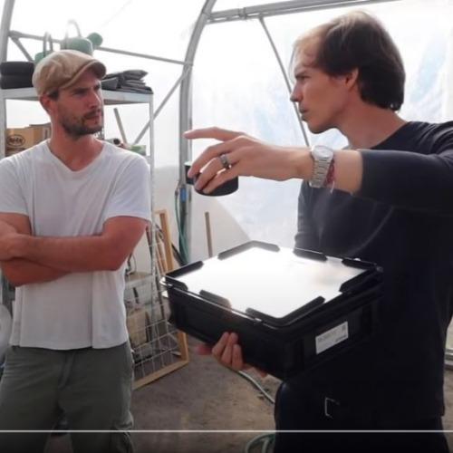Des capteurs autonomes dans une serre de R&D: démonstration d'une collaboration récente à l'Agropôle